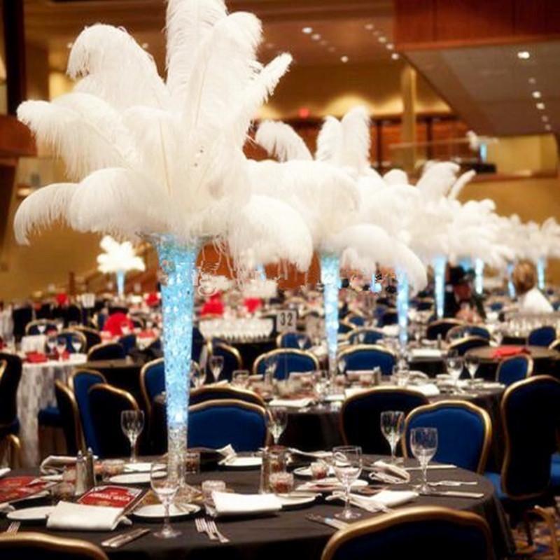 20-22 дюйма / 50-55 см Party Decor Searich People Plume для свадебных центров, украшения стола 10 цветов