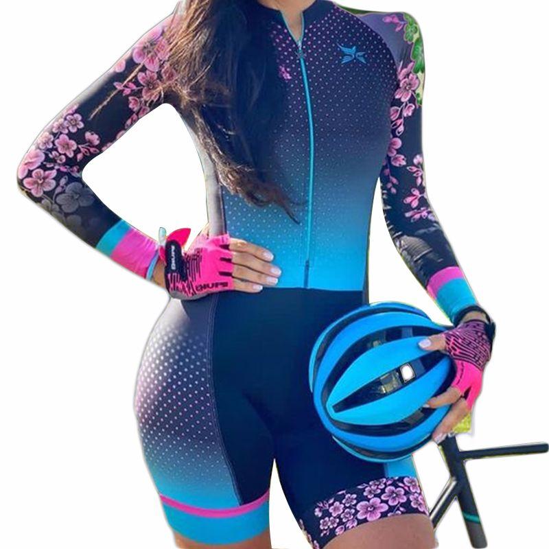 Велосипедная одежда Велоспорт Джерси устанавливает быструю сушку женщин и дышащую