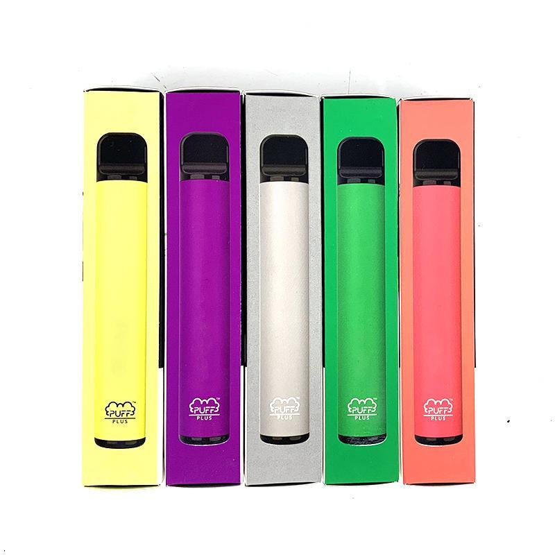 E CiGarette Puff Bar Plus People Pen 3.2ML Предварительно заполненное масло для курения POD 550 мАч Батарея 800 Puffs Vape Kit Box Упаковка PK Bang
