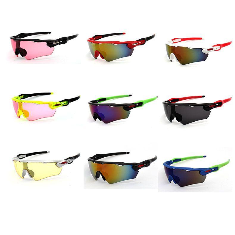 도매 유니섹스 사이클링 안경 태양 유리 야외 스포츠 선글라스 UV 400 보호 고글 산악 도로 자전거 자전거 낚시 안경