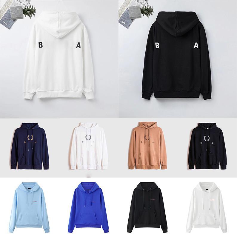 Designer Hoodie Herren Womens Hooding Sweatshirts Frauen Männer Streetwear Pullover Sweatshirt Langarm Hoody Loose Hoodies 21SS Hohe Qualität