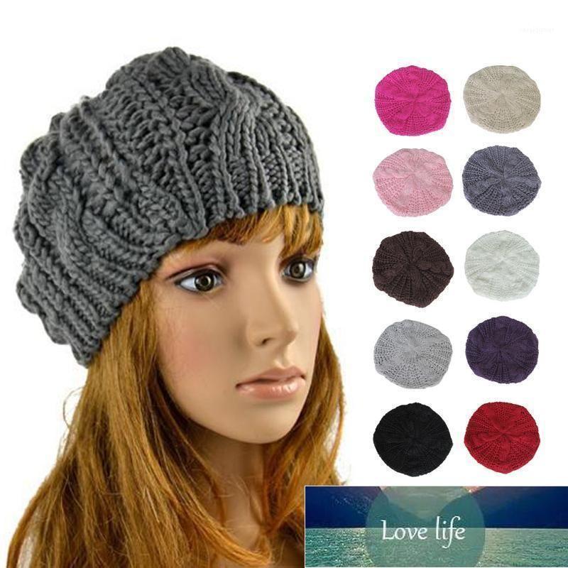 Beanie/Skull Caps ! Fashion Women Knitted Warm Cap Winter Hats Girl Beanies Female Outdoor Girls Soft Cotton Stretch Skullies Simple Cute Ca
