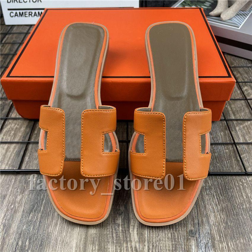 예쁜 여자 여름 샌들 비치 슬라이드 슬리퍼 악어 피부 가죽 플립 플롭 섹시한 발 뒤꿈치 숙녀 샌들 패션 디자인 오렌지 스 캔버스 신발