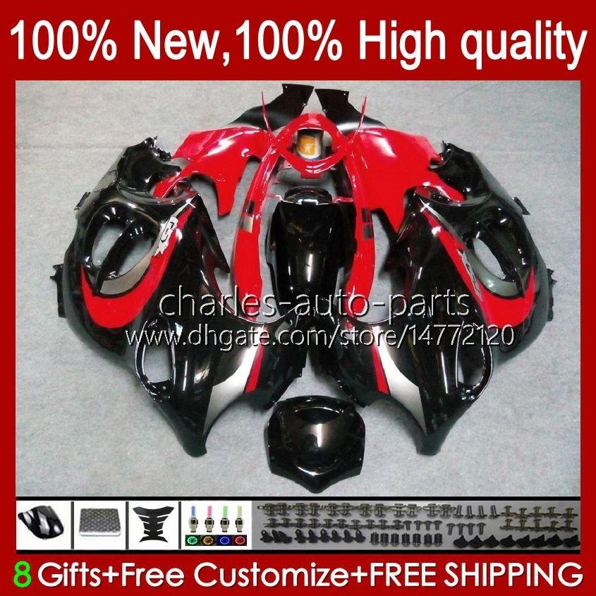 Ciało dla Suzuki Katana GSX600F GSXF600 GSXF750 GSXF 600 750 CC 98 99 00 01 02 29NO.38 600CC 750CC GSX750F GSXF-600 GSXF-750 1998 1999 2000 2001 2002 2002 Owalnia Czerwona Czarna Blk