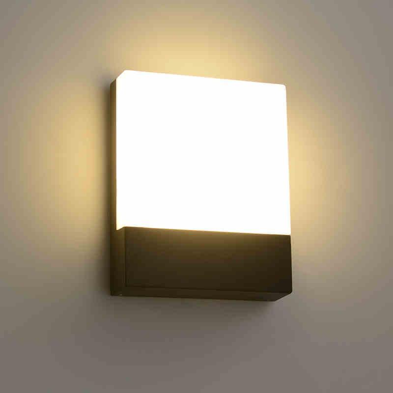 현대적인 고도로 벽 램프 크리 에이 티브 야외 조명 복도 발코니 커뮤니티 Buitenverlichting 주거 브래지어 램프