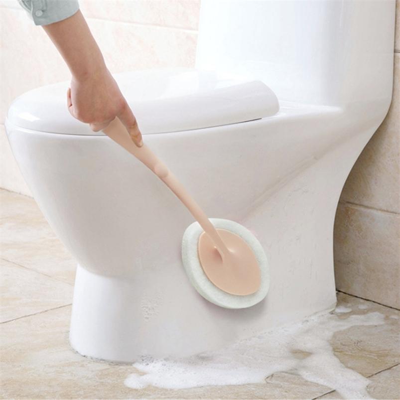 Чистка кисти Ванна Ручной туалет Губка Напольные Плитка Очиститель Кухонный инструмент Ванная комната 210423