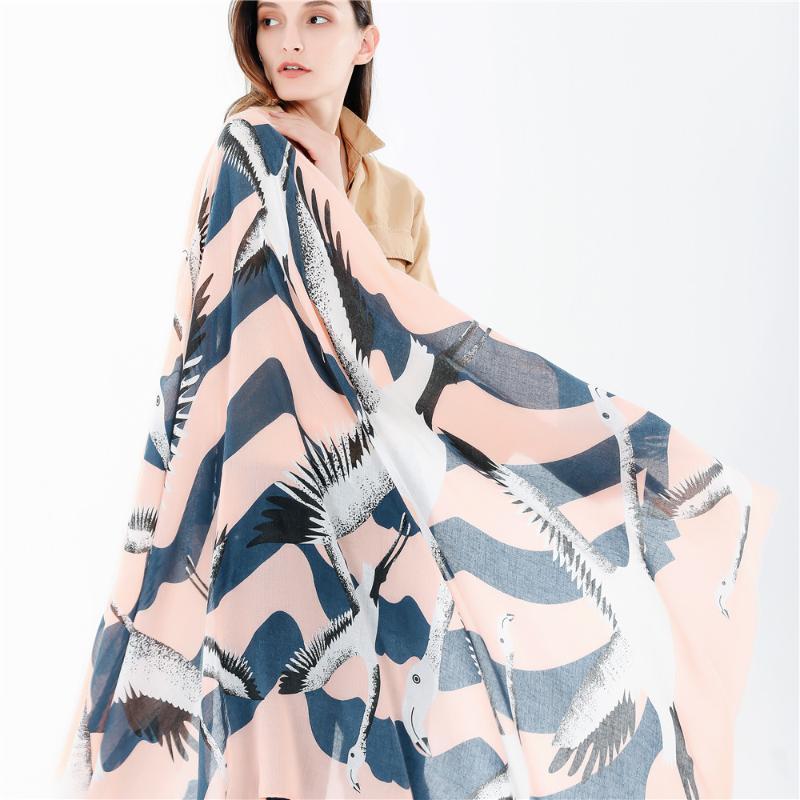 Moda xadrez lenço de seda luxo mulheres marca lenços para seabird impressão xaile hijab wrap feminino bandanas