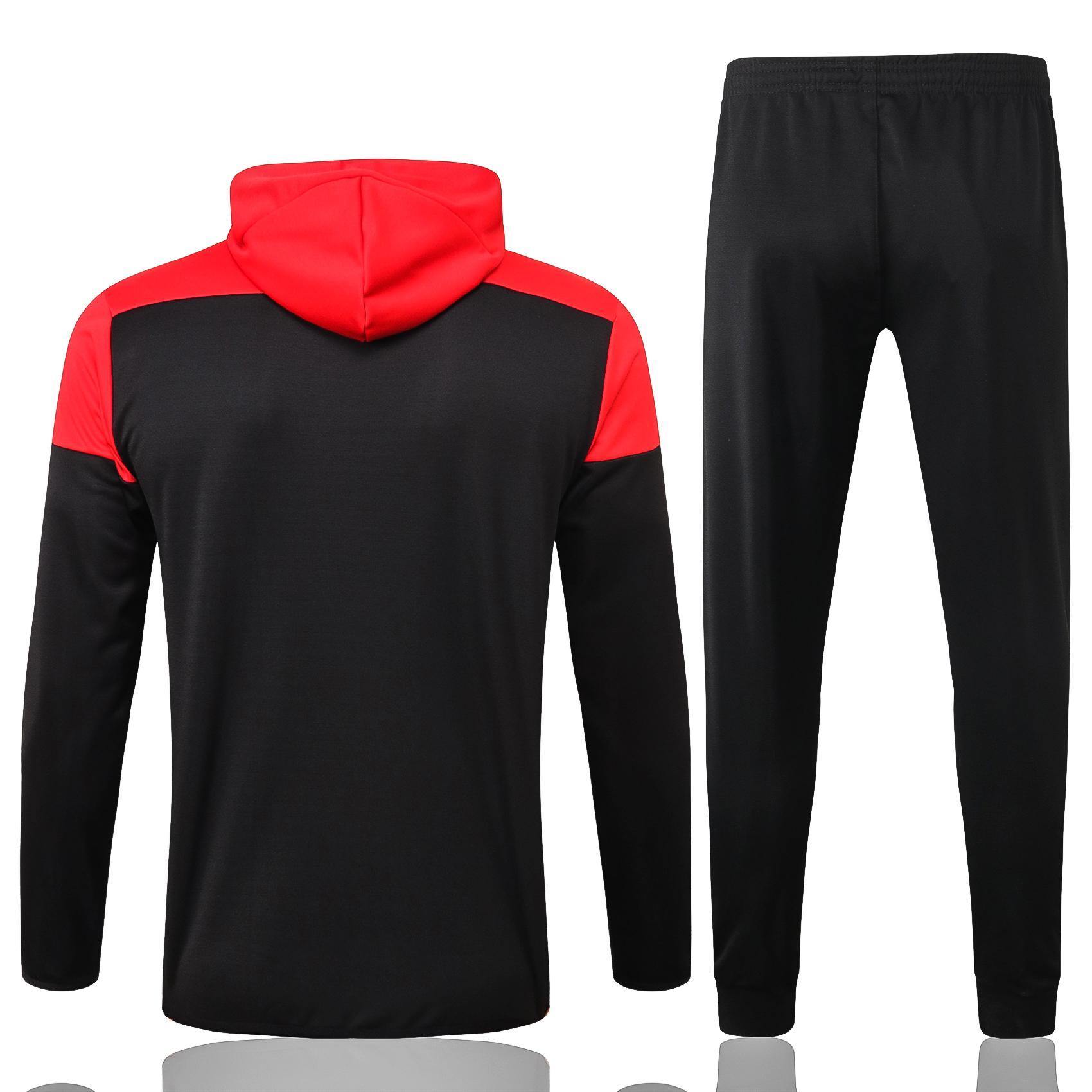 N'importe quel kits de costume de formation de jersey de football à capuche pour hommes et nom personnalisé et numéro / besoin de contacter une enquête s'il existe des stocks