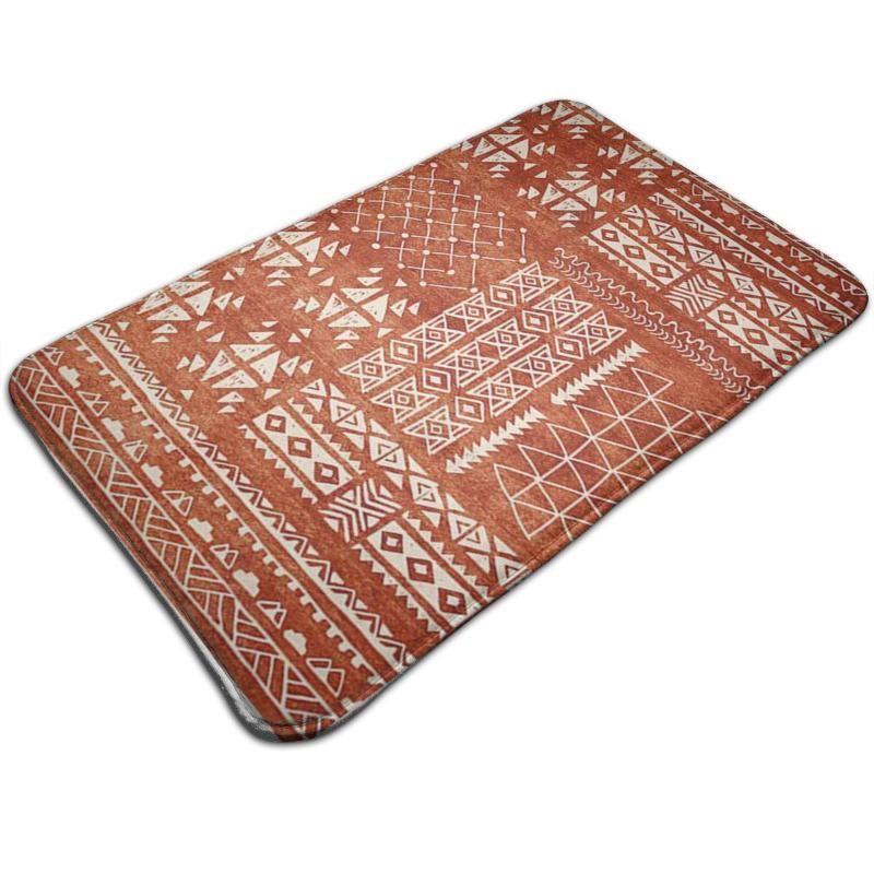 Carpets Retro Moroccan Persian Bohe Doormats Non-Slip Floor Mat Absorbent Bath Durable Kitchen Rug Entryway Welcome Mats