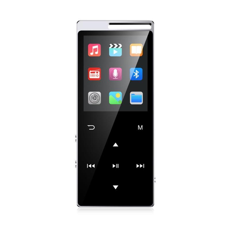 / MP4 jogador de esportes Bluetooth com fones de ouvido 8GB 1.8 polegadas Tela de contato mini Gravação portátil MP3 players