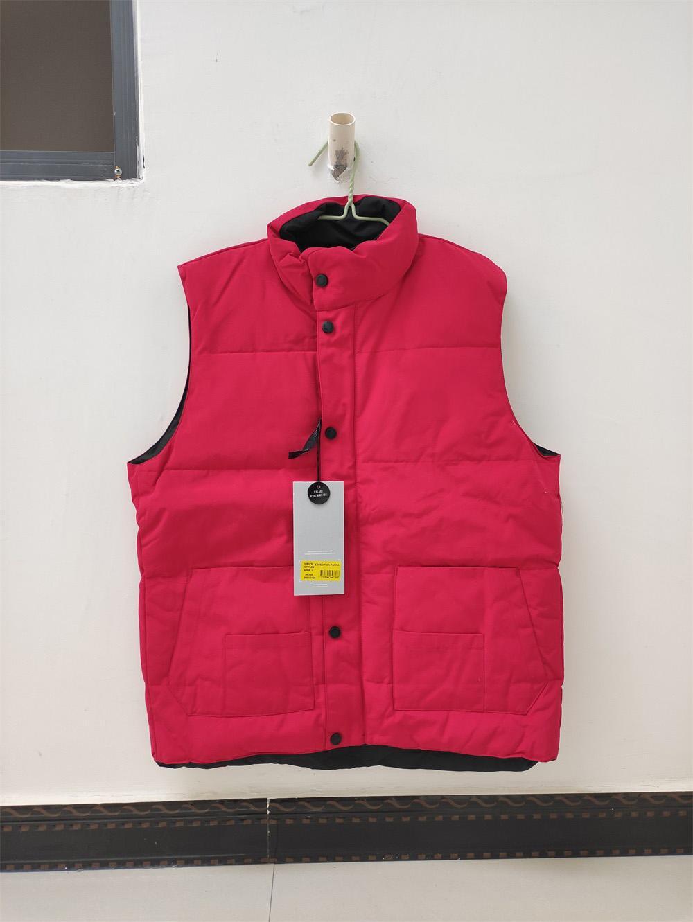 Coletes de moda para baixo colete de jaqueta mantêm homens quentes homens estilistas jaqueta de inverno homens e mulheres engrossar casaco ao ar livre tamanho de proteção a frio essencial S-2XL