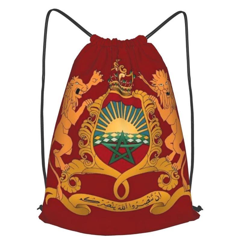 Mochila con cordón para hombres y mujeres bolsa de viaje Fitness Shopping