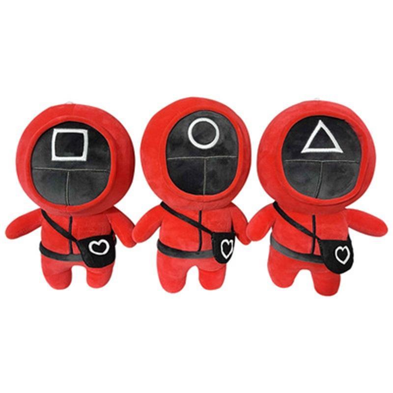 Squids TV gioco giocattolo giocattolo peluche bambola creativo squid giochi popolari giocattoli popolari anime circostanti
