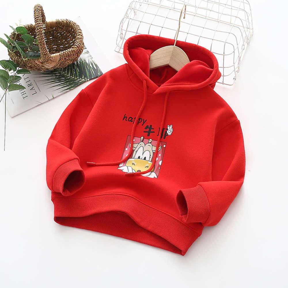 Толстовки для толстовок Физическая стрелковая машина Новый свитер Год дети