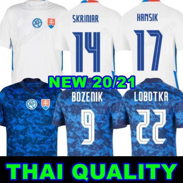 2021 Slovakia Soccer Jerseys 21 22 Bozenik Skrtel Skriniar Hamsik Lobotka الصفحة الرئيسية Biue بعيدا أبيض