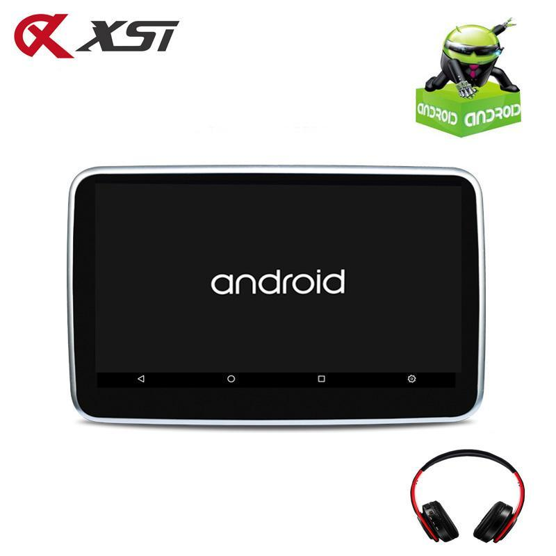 Coche Video Xst 10.1 pulgadas Android 6.0 Reposacabezas MP5 MONITOR IPS Pantalla táctil HD 1080P WIFI / HDMI / USB / SD / Bluetooth / FM Transmisor