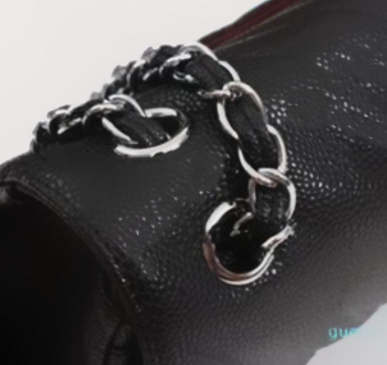 Mulheres desenhador de luxo saco de ombro senhoras marca moda bolsa mini sacos clássico de couro genuíno bolsa cruzeta caviar textura cadeia 2021