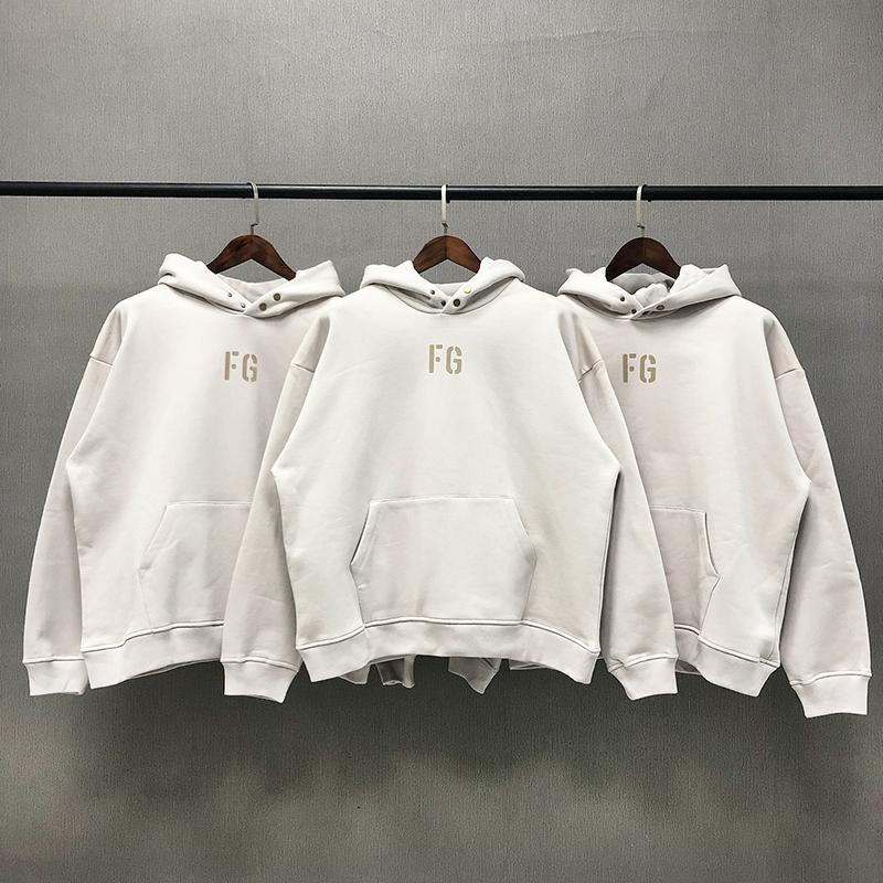 2021Unumn und Winter FG Männer Hoodies Warme Wesentliche Angst vor Gott Designer Hoodie Herren Womens Kapuzenmode Hohe Qualität Supremo Streetwear
