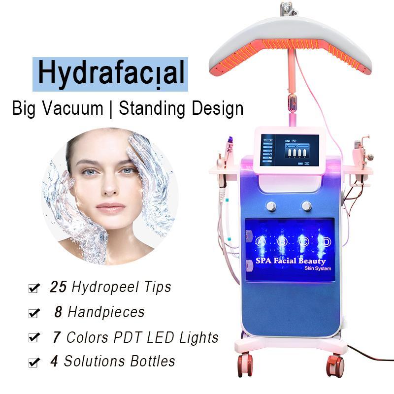 FDA Clearance Hydro Facial Deep Cleansing Hydra Dermabrasion Scars Scares Оборудование для удаления Микродермабразия Гидрофабрикальная машина Клиника