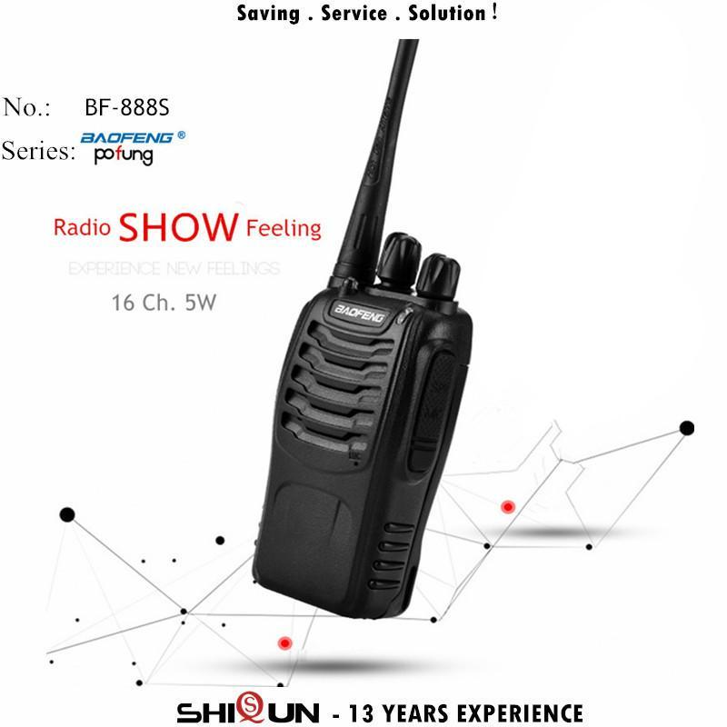 Walkie Talkie 1PC Or 2PCS Baofeng BF-888S 888s UHF 5W 400-470MHz BF888s BF H777 Two Way Radio With USB Charger H-777