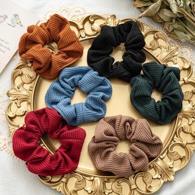 2021 nuovo autunno / inverno a colori solido risparmio di grande bobina per capelli bobina per capelli vincolanti per capelli versatili fascia elastica