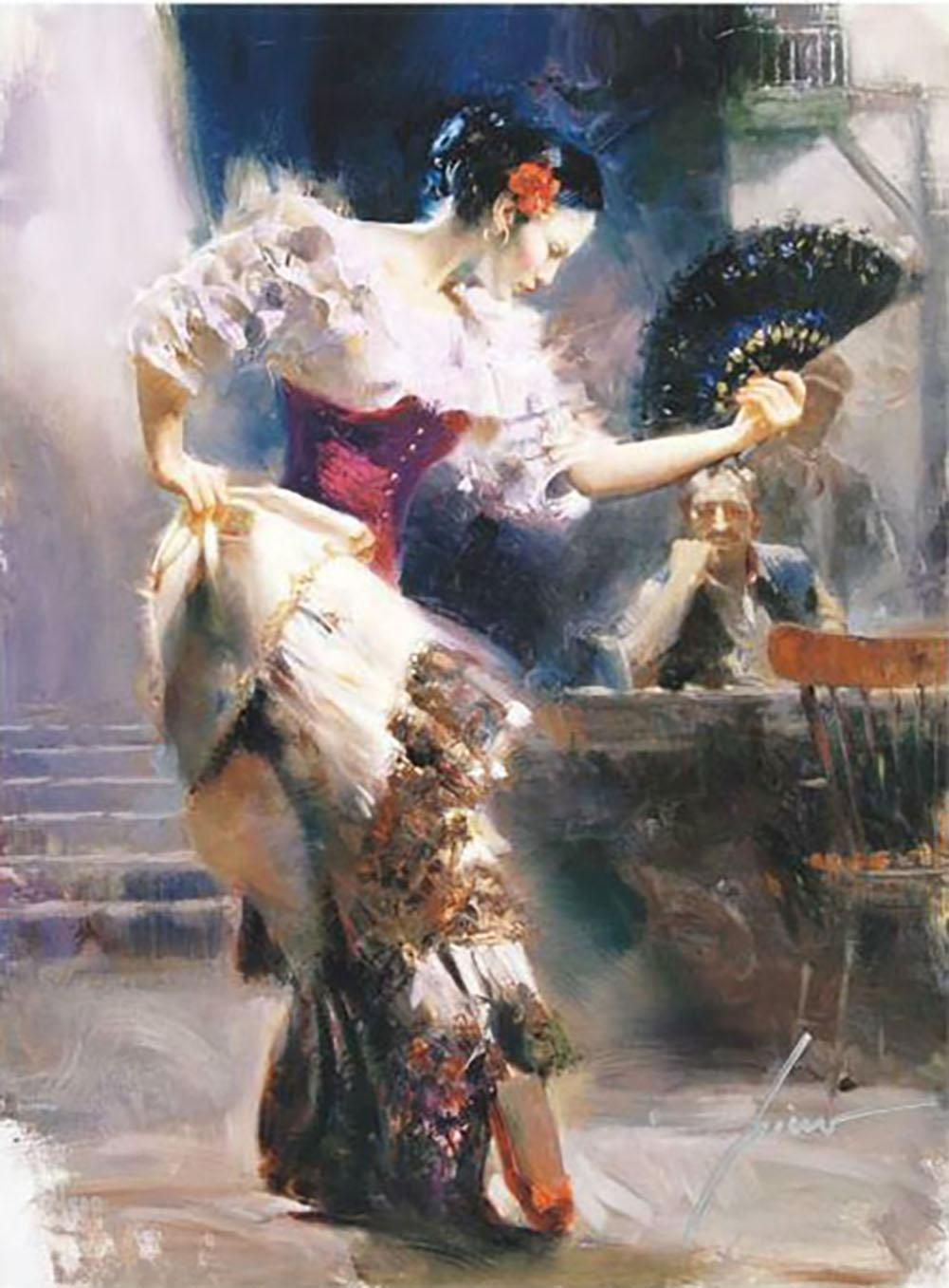 The Dancer Oil Painting On Canvas Home Decor Handcrafts /HD Print Wall Art Picture Customization is acceptable 21092001