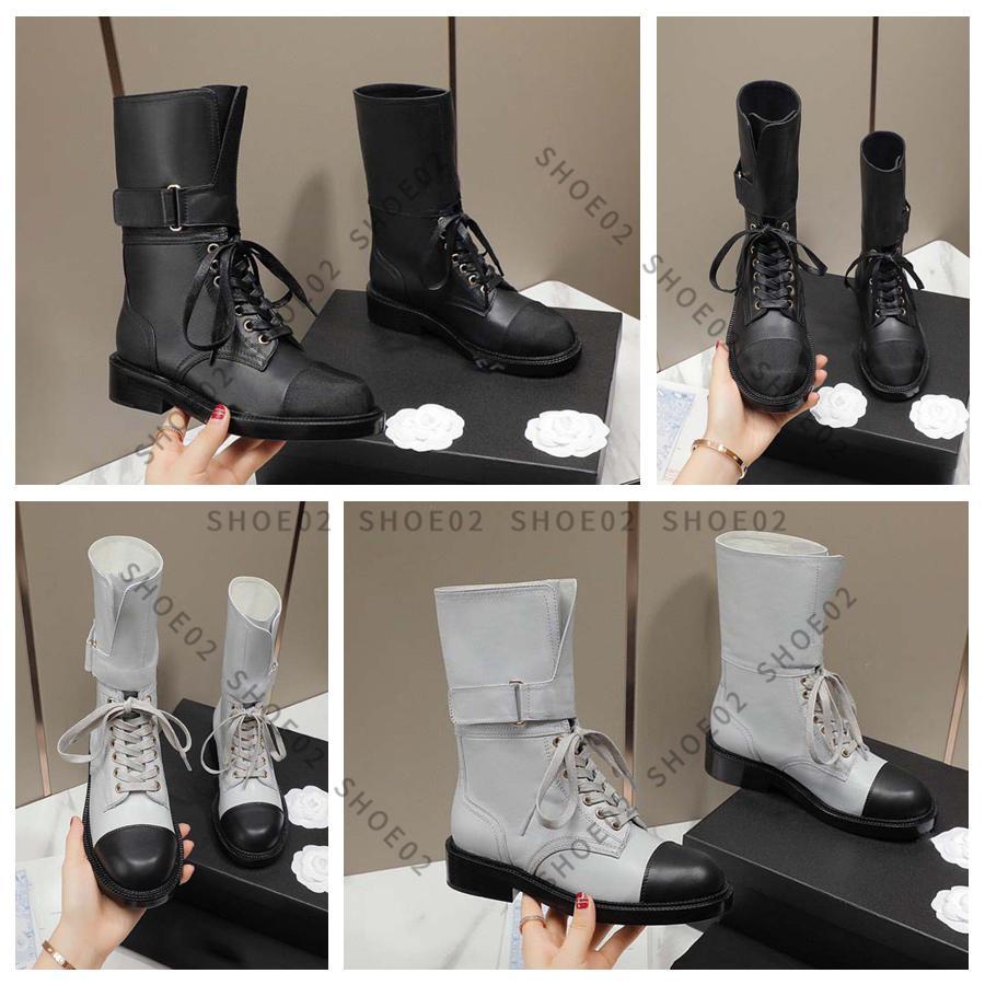 الأكثر مبيعا النساء أحذية مصمم نصف التمهيد نمط كلاسيكي أحذية جلدية حقيقية الأزياء الأحذية الشتاء سقوط مع صندوق الاتحاد الأوروبي: 35-41 بواسطة shoe02 01