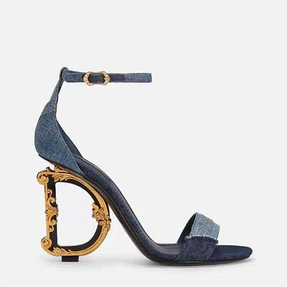 Сандалии женщины красные нижние высокие каблуки слайды женские роскоши дизайнеры обувь натуральные кожаные насосы леди тапочки свадебные днища с коробкой пыли сумка размером 35-41