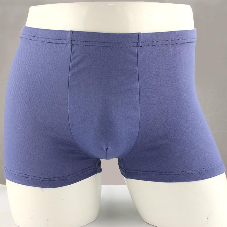 pantalones cortos de color sólido de color plano 3D Ropa interior de 5 yuanes