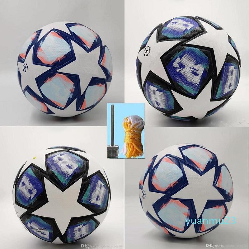 20 21 Avrupa Şampiyonu Futbol Topu 2020 2021 PU Boyutu 5 Topları Granül Kaymaz Futbol