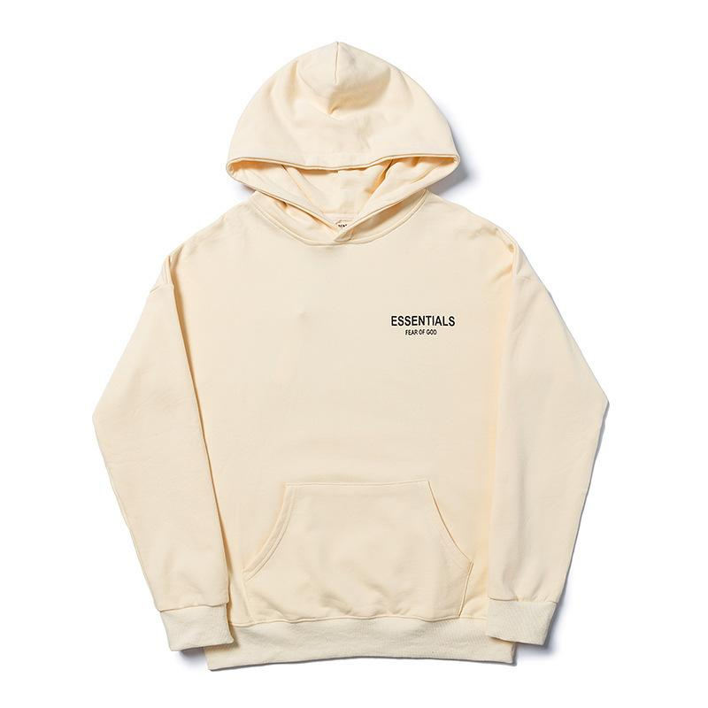 Linea nebbia Doppia Felpa con cappuccio da uomo Essentials Essentials Flower High Street Hoodie Trendy Coat Coat