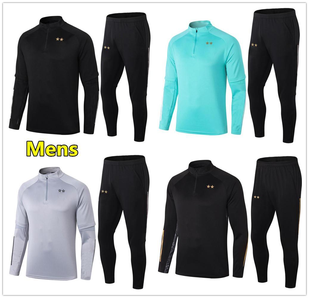 2020 2021 Mężczyzna Piłka Nożna Dres Piłka Nożna Szkolenia Garnitur 20 21 Dres piłki nożnej Maillot Survetement Foot Chandal Jogging Kit