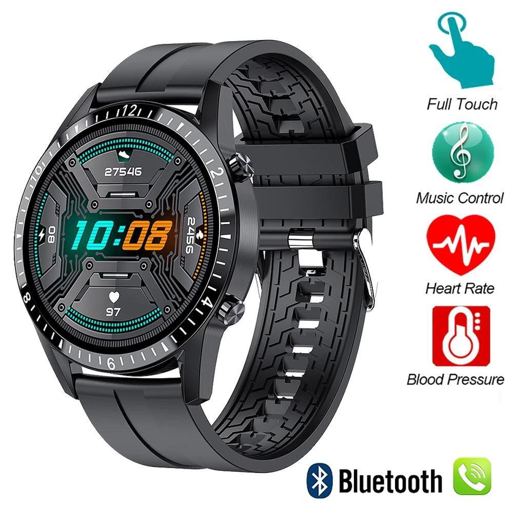 Смарт-часы Сенсорный экран Bluetooth Рука Бесплатные Смартвенные Мужчины Женщины Фитнес Трекер Сердеч Зречение Звоните Музыкальная зона