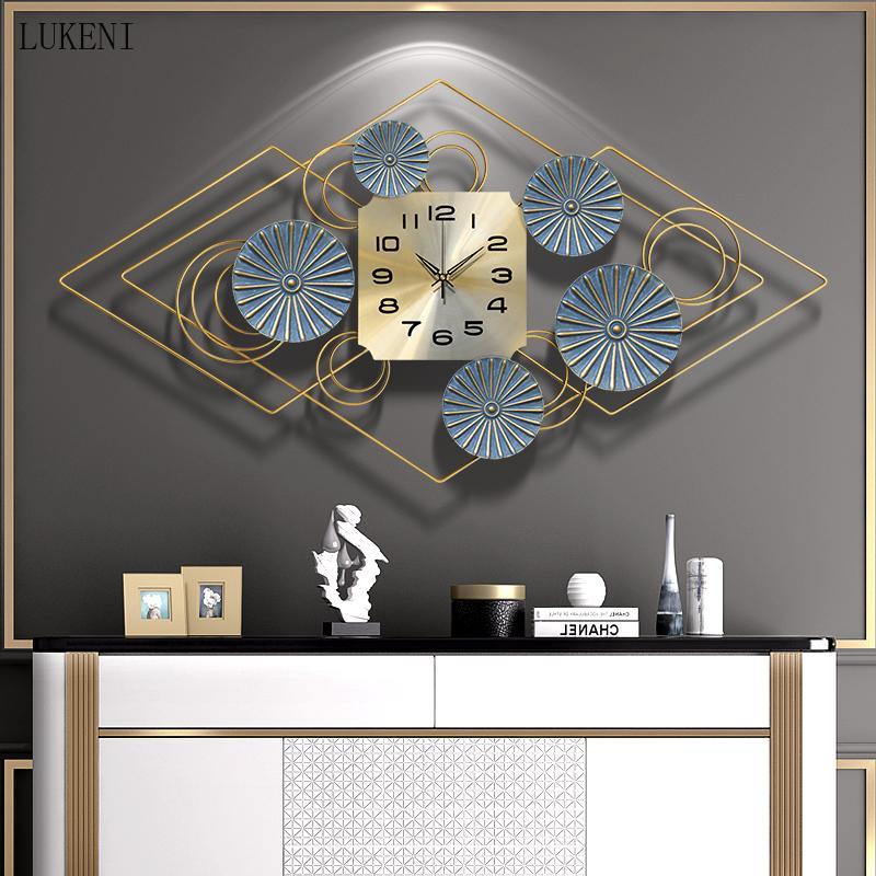Orologio da parete di lusso americano orologio da parete soggiorno orologio domestico moderno decorazione creativa mute wall watch personalità orologio da parete