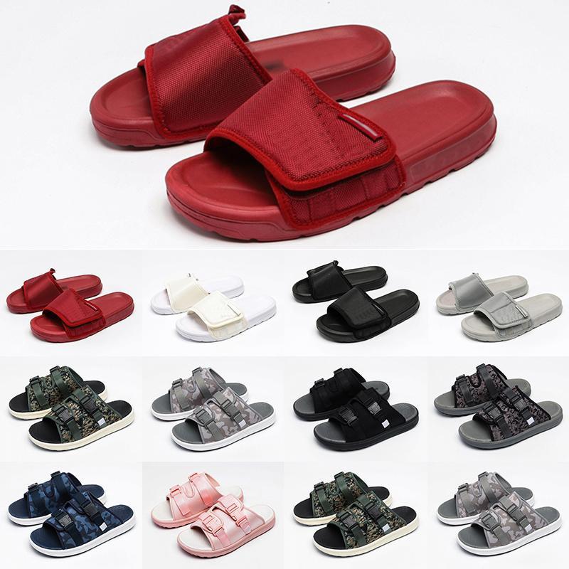 [상자 포함] 2021 남자 디자이너 슬라이드 Womens 샌들 슬리퍼 여성 샌들 꽃 남자 플랫 바닥 스트라이프 비치 캐주얼 야외 플랫폼 로퍼 신발