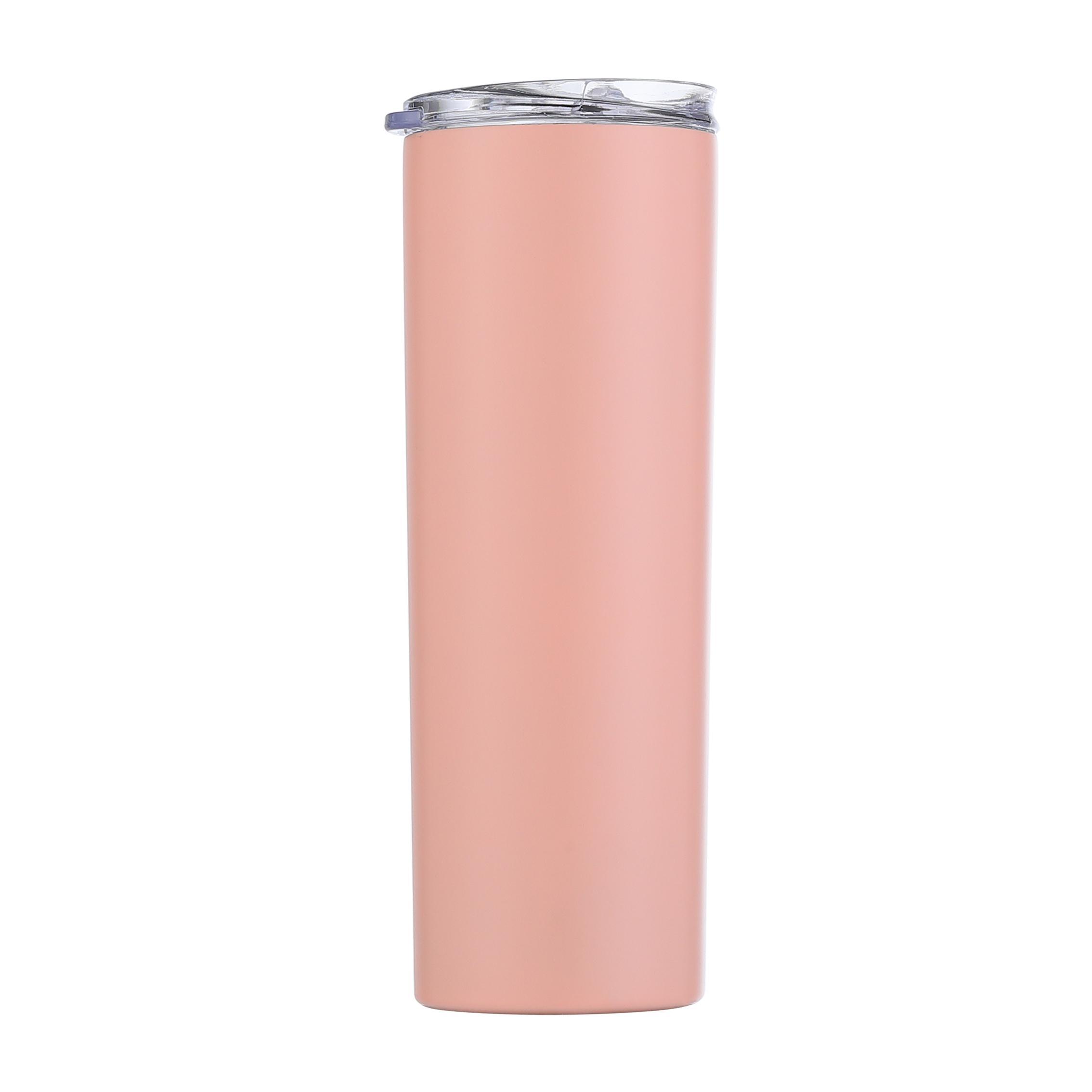 20oz skinny copo de aço inoxidável copo de aço inoxidável com nova tampa de selagem dupla parede vácuo isolado copo de beber 20oz mar hhc7606