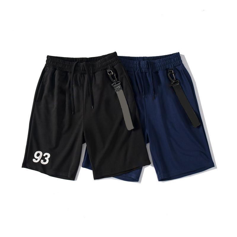 Pantalon courte pour hommes Femme Sportswear Beach Pantalon Été Jogger Lâche Casual Black Hop Hop Hop for Hommes Taille M-2XL