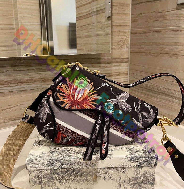 2021 sacchetti di sella classica di alta qualità LUXURISS Designer Designer Cross Body Borse Borse Donne Borsa a tracolla Borse da donna Borse Alla moda Pelle Pelle Qualità Portachiaia