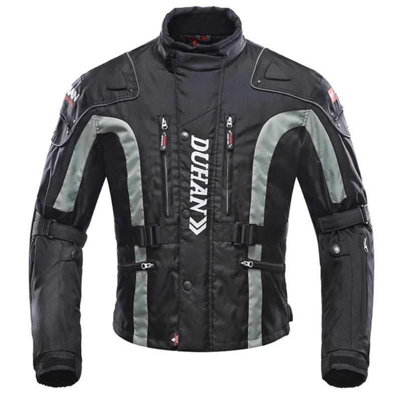 Casaco de Motocicleta Preto Homem Protetor engrenagem Motocross + Calças Moto Set Riding Racing Terno Motociclista Motociclista Fato