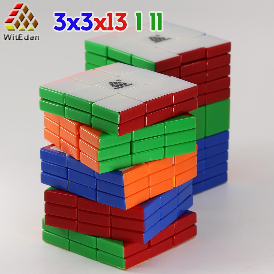 Witeen مكعبات ماجيك مكعب لغز 3x3x13 33 13 3x3x15 33 15 3 * 3 * 13 3 * 3 * 15 ملصقا المهنية ألعاب تعليمية كوبو ماجيك