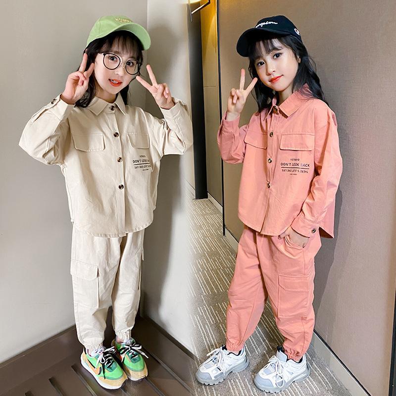 Children's Clothing Girls' Suit Autumn New Little Girl D10.15 201126