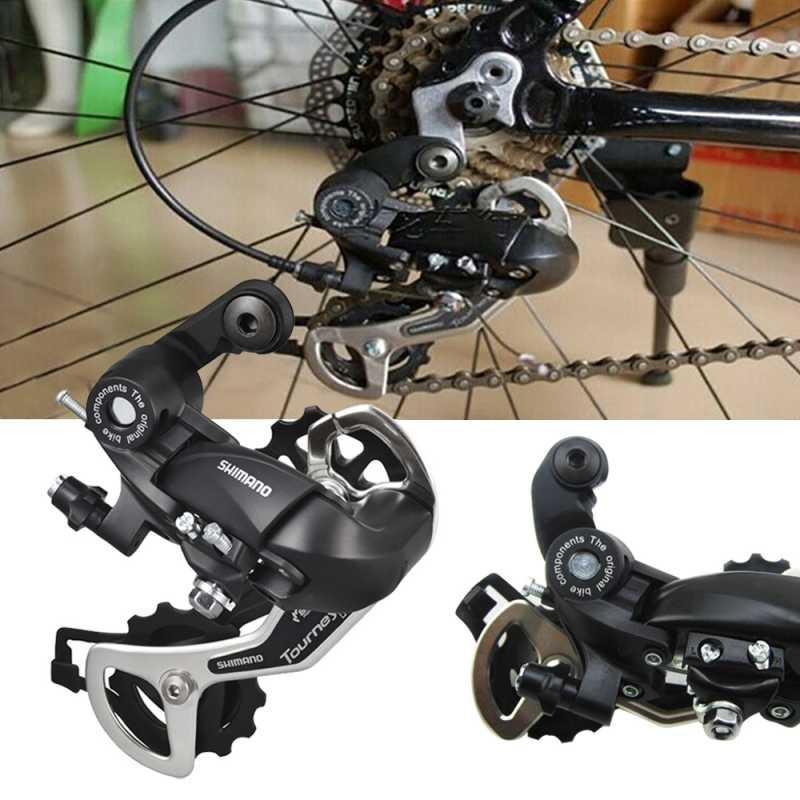 Bike Derailleurs Aluminum Alloy Bicycle Transmission Rd Tx35 7/8 Speed Mount Rear Mech Derailleur Accessories High Teeth Adjustment