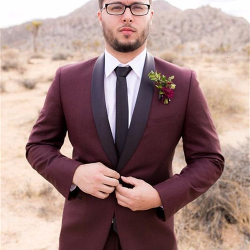 Trajes para hombres Blazers Ivory Púrpura Ropa blanca Traje Chaqueta de negocios Ropa para hombre Ropa Best Man Vestido de novia Disfraz formal Homme Abrigo