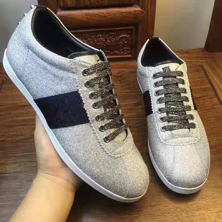 إيطاليا Luxurys الأحذية غير الرسمية للشبان الآس مصممي العلامة التجارية الكلاسيكية النساء حذاء رياضة خارج دروبشيب الصين مصنع المتاجر عبر الإنترنت مع مربع الأصلي زائد الحجم