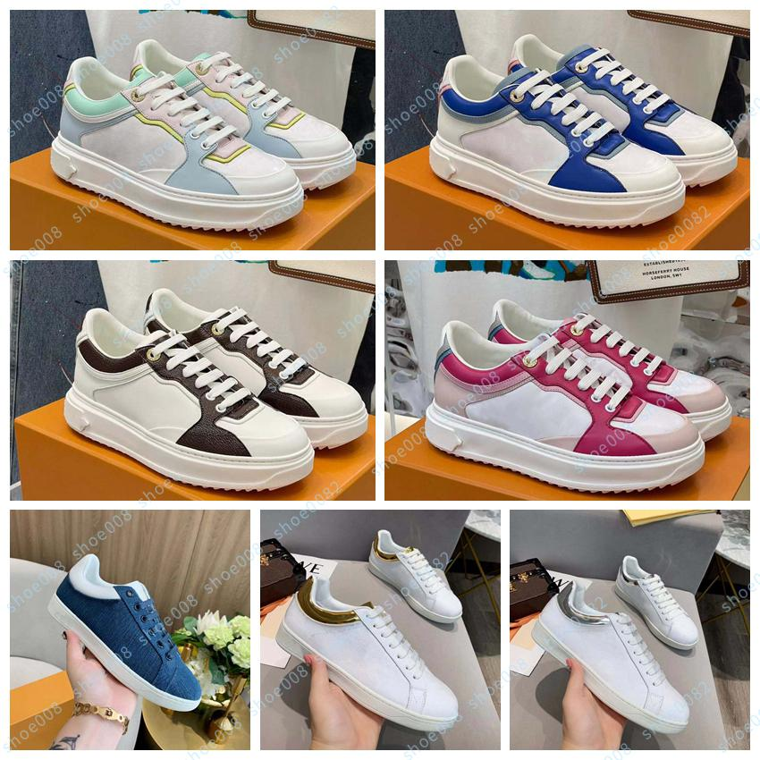 Novo fugitivo baixo top sneaker plataforma padrão plataforma clássico camurça couro esportes skates sapatos homens mulheres sneakers sapato008 25610