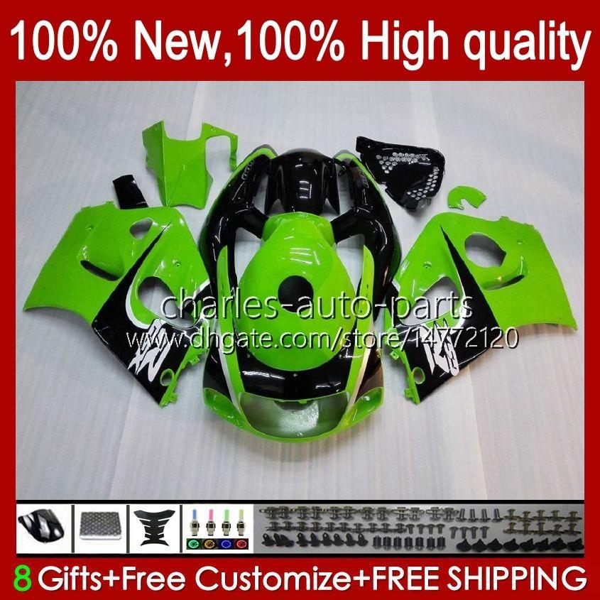Suzuki Srad GSXR 600CC 750CC 750 600 CC 96-00 GSXR-750 GSXR600 1997 1997 1998 1999 2000 GSXR750 GSX-R600 96 97 98 99 00フェアリングファクトリーグリーン