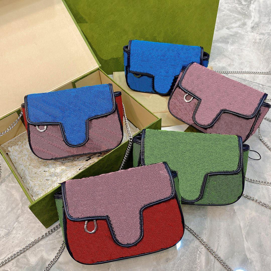 الأزياء قطري حقيبة الكتف مصمم خطاب مزدوج الاتجاه نمط سلسلة أكياس المرأة مزاجه حقيبة يد جودة عالية WF2104261