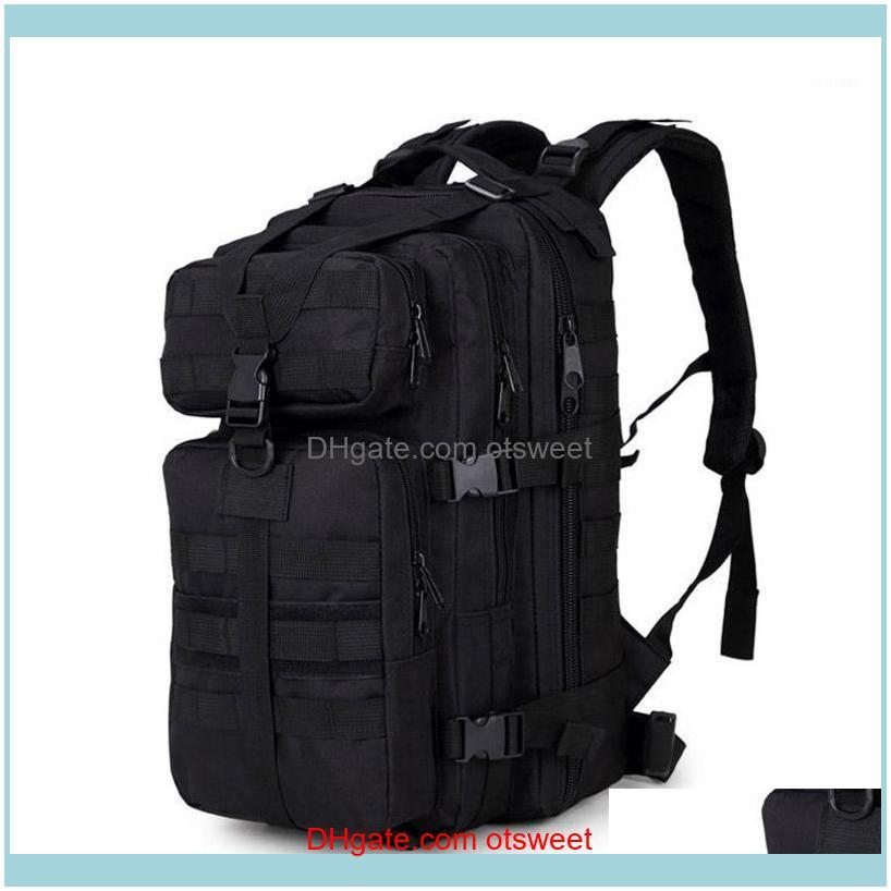 Borse Sport Outdoors35L 3P Tattico Assault Pack Zaino Molle Impermeabile Bug Out Bag Small Zaino per escursioni all'aperto Camping Hunting1