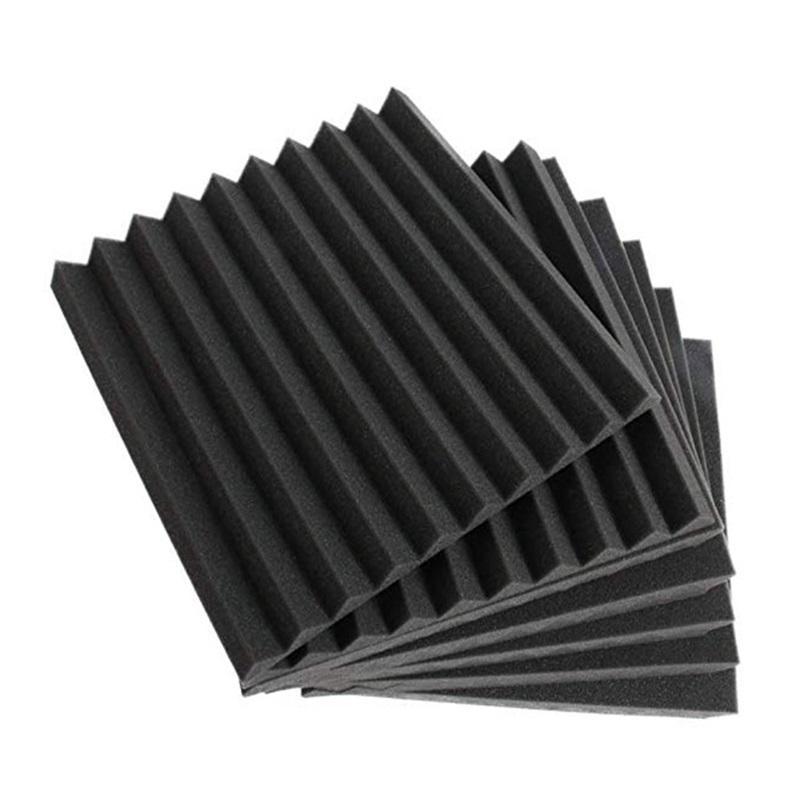 48 Pcs energy saving Acoustic Panels Studio Soundproofing Foam Wedge 1 X 12 Fzflr 1333 V2