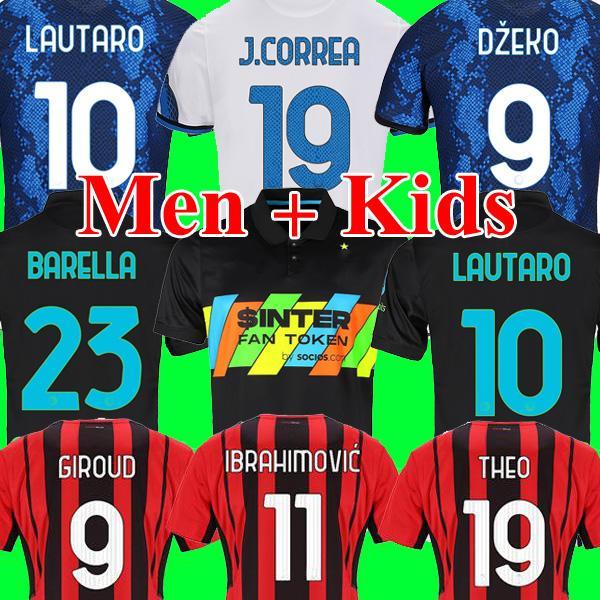 Inter Mailand Fußball Trikot milan soccer jersey football shirt VIDAL DZEKO BARELLA ERIKSEN LUKAKU LAUTARO 21 22 Fußball-Trikot 2022 2021 Maglia da Calcio vierter